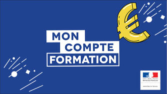 Lancement de l'application MonCompteFormation